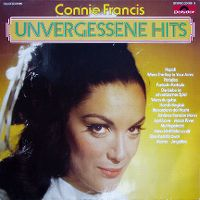 Cover Connie Francis - Unvergessene Hits