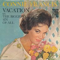Cover Connie Francis - Vacation