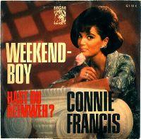 Cover Connie Francis - Weekend-Boy