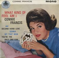 Cover Connie Francis - What Kind Of Fool Am I