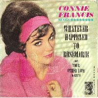 Cover Connie Francis - Whatever Happened To Rosemarie
