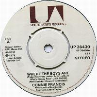 Cover Connie Francis - Where The Boys Are (English Disco Version)