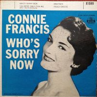 Cover Connie Francis - Who's Sorry Now
