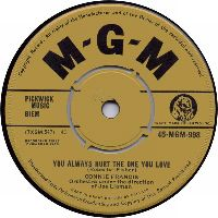 Cover Connie Francis - You Always Hurt The One You Love