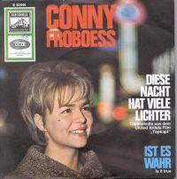 Cover Conny Froboess - Diese Nacht hat viele Lichter