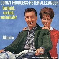 Cover Conny Froboess - Peter Alexander - Verliebt, verlobt, verheiratet