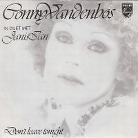 Cover Conny Vandenbos & Janis Ian - Don't Leave Tonight