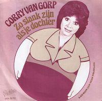 Cover Corrie van Gorp - Zo slank zijn als je dochter