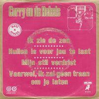 Cover Corry & De Rekels - Ik zie de zon