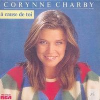 Cover Corynne Charby - À cause de toi