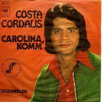 Cover Costa Cordalis - Carolina, komm