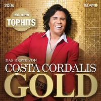 Cover Costa Cordalis - Gold - Das Beste von Costa Cordalis