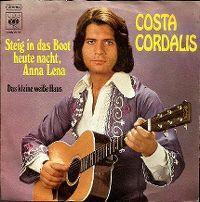 Cover Costa Cordalis - Steig' in das Boot heute nacht, Anna Lena