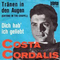 Cover Costa Cordalis - Tränen in den Augen