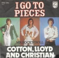 Cover Cotton, Lloyd & Christian - I Go To Pieces