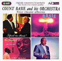 Cover Count Basie And His Orchestra - Four Classic Albums
