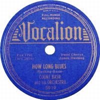 Cover Count Basie And His Orchestra - How Long Blues