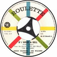 Cover Count Basie & Sarah Vaughan with Joe Williams - If I Were A Bell