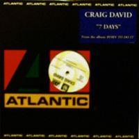 Cover Craig David - 7 Days