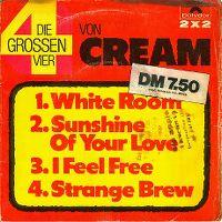 Cover Cream - Die großen vier von Cream