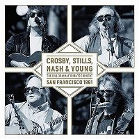 Cover Crosby, Stills, Nash & Young - San Francisco 1991 - The Bill Graham Tribute Concert