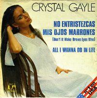 Cover Crystal Gayle - Don't It Make My Brown Eyes Blue