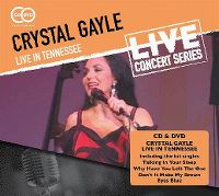 Cover Crystal Gayle - Live In Tennessee