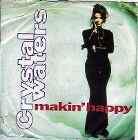 Cover Crystal Waters - Makin' Happy