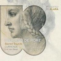 Cover Currende / Erik Van Nevel - Sacred Sounds - Cipriano de Rore