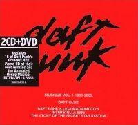 Cover Daft Punk - Musique Vol. 1 - 1993-2005 + Daft Club