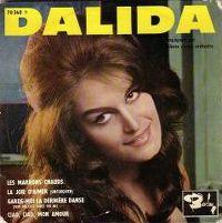 Cover Dalida - Les marrons chauds