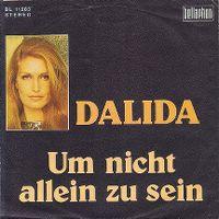 Cover Dalida - Um nicht allein zu sein