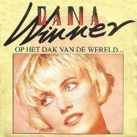 Cover Dana Winner - Op het dak van de wereld...
