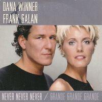 Cover Dana Winner & Frank Galan - Never Never Never