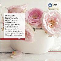 Cover Daniel Barenboim / Jacqueline du Pré / New Philharmonia Orchestra / London Philharmonic Orchestra / Dietrich Fischer-Dieskau - Schumann: Piano Concerto / Cello Concerto