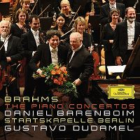 Cover Daniel Barenboim / Staatskapelle Berlin / Gustavo Dudamel - Brahms: The Piano Concertos