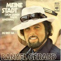 Cover Danyel Gérard - Meine Stadt (Von Japan nach Amerika)