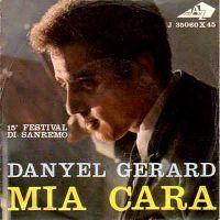 Cover Danyel Gérard - Mia cara