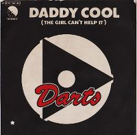 Cover Darts - Daddy Cool / The Girl Can't Help It