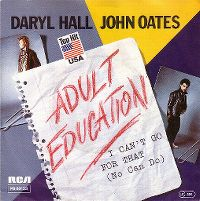 Cover Daryl Hall / John Oates - Adult Education
