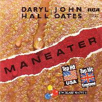 Cover Daryl Hall + John Oates - Maneater