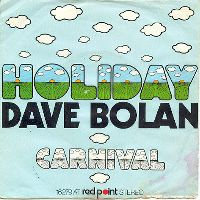 Cover Dave Bolan - Holiday
