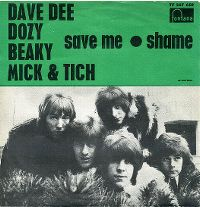 Cover Dave Dee, Dozy, Beaky, Mick & Tich - Save Me