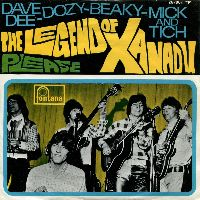 Cover Dave Dee, Dozy, Beaky, Mick & Tich - The Legend Of Xanadu