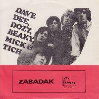 Cover Dave Dee, Dozy, Beaky, Mick & Tich - Zabadak