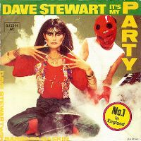 Cover Dave Stewart with Barbara Gaskin - It's My Party