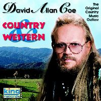 Cover David Allan Coe - Country And Western