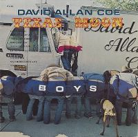 Cover David Allan Coe - Texas Moon