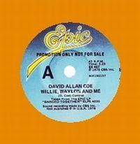 Cover David Allan Coe - Willie, Waylon And Me