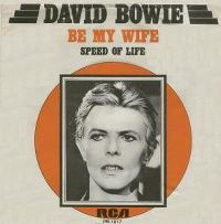 Cover David Bowie - Be My Wife